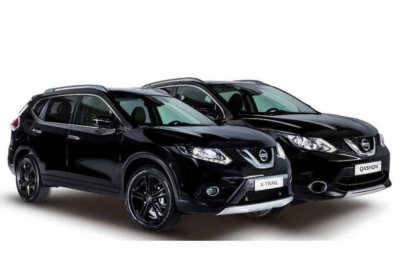 nissan muestra los qashqai y x trail black en madrid auto. Black Bedroom Furniture Sets. Home Design Ideas