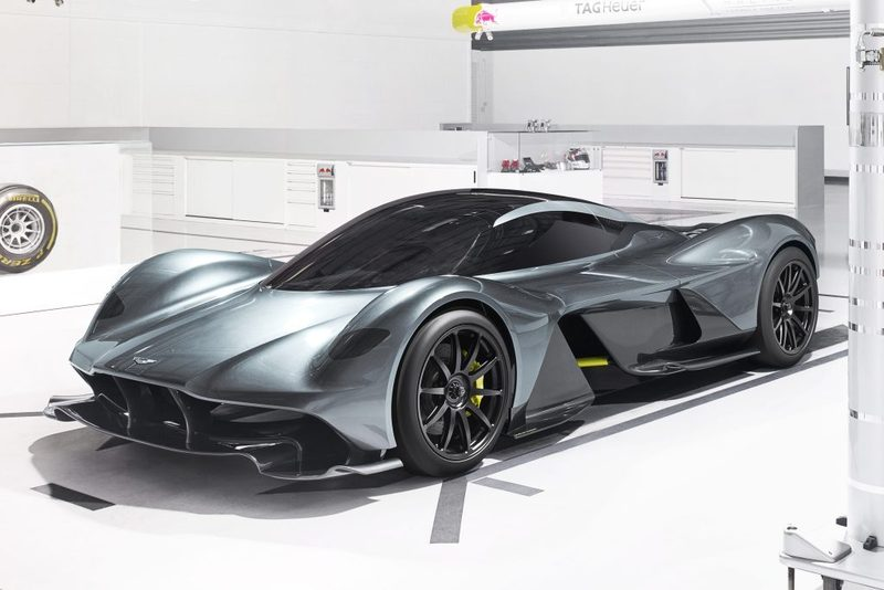 AM-RB 001: el F1 de calle de la mano de Aston Martin y Red Bull Racing
