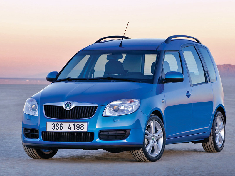 Skoda  Roomster Scout 1.9 TDI