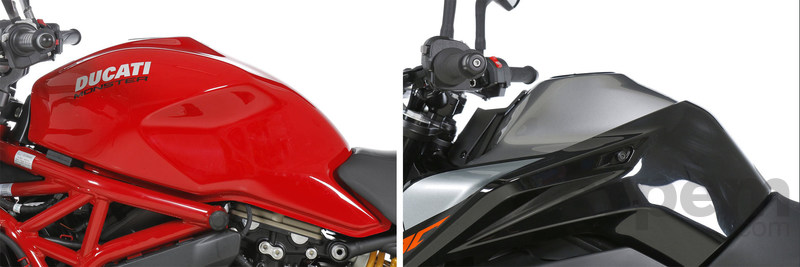 Comparativa Ducati Monster 821 & KTM 790 Duke