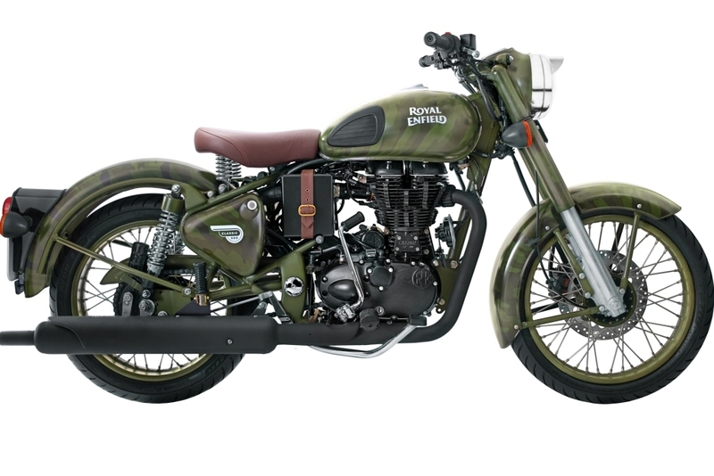 Royal Enfield Despatch Limited Edition Camouflage