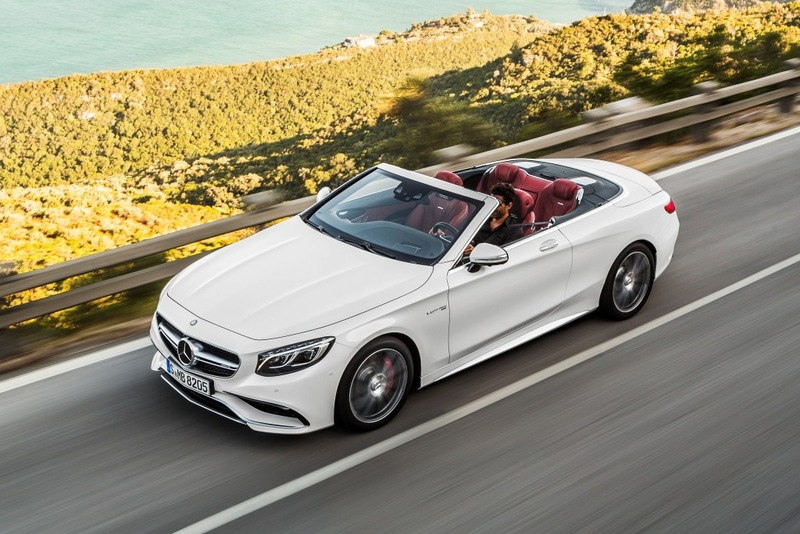 Mercedes-AMG S 63 Cabriolet 2016