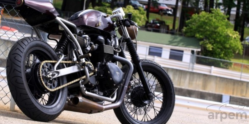 Triumph Thruxton Cafe Racer by Medusa