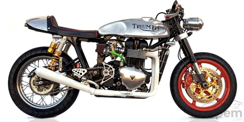 Thruxton 904S by Deus Ex Machina
