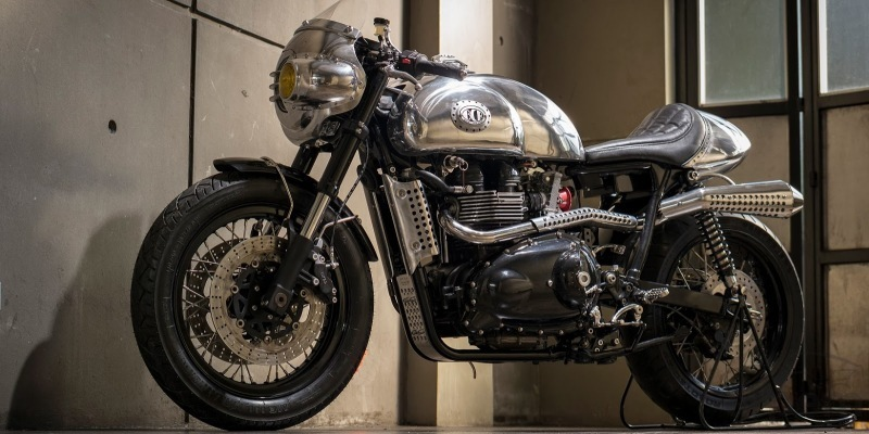 Thruxton Steampunk by BCR