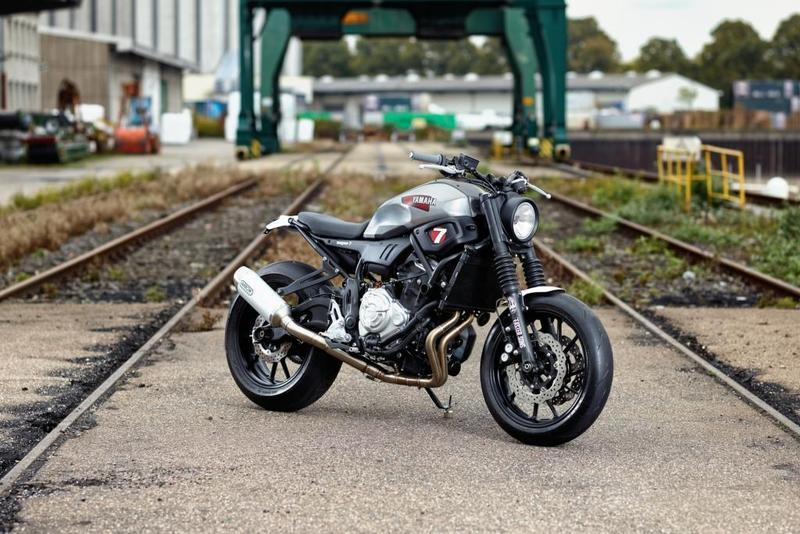 Yamaha XSR700 'Super 7' by JvB-moto