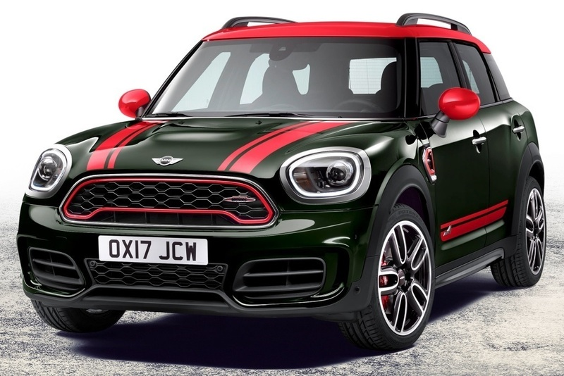 MINI John Cooper Works Countryman 2017: más potente y con tracción total