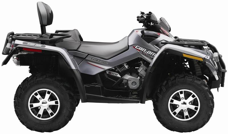 Can-Am Can-am Outlander Max  						800 Ltd