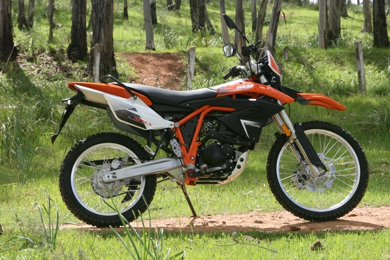 MH Motorcycles MH MHX 125