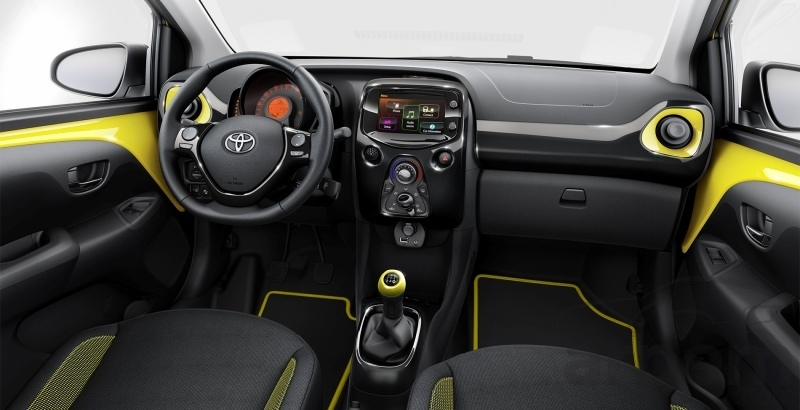 toyota aygo x cite 2016 noticia coche. Black Bedroom Furniture Sets. Home Design Ideas