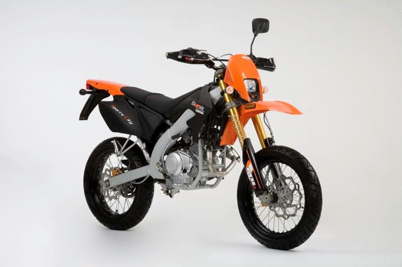 MH Motorcycles MH Duna 125 Sports City