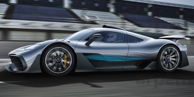 Mercedes-Benz AMG Project ONE prototipo 2017