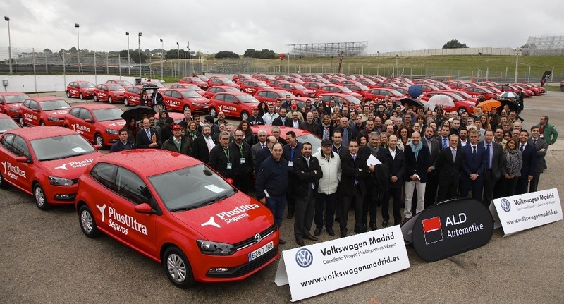 Plus Ultra recibe una flota de automóviles de Volkswagen y ALD Automotive