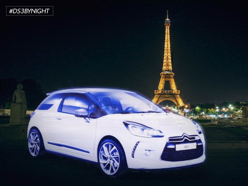 #DS3BYNIGHT: Una campaña digital innovadora para el DS 3