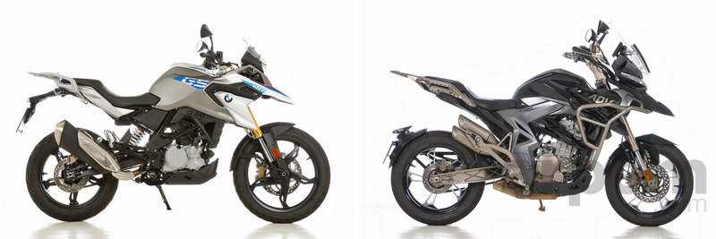Comparativa BMW G 310 GS & Zontes T-310