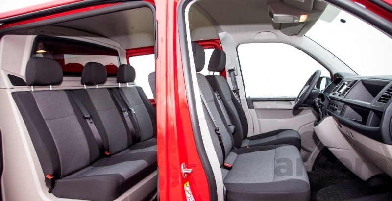 Volkswagen Transporter Mixto Plus