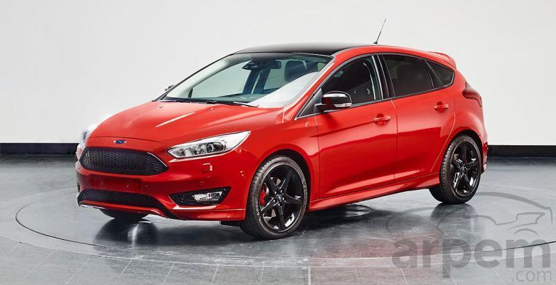 Ford Focus Red y Black Edition