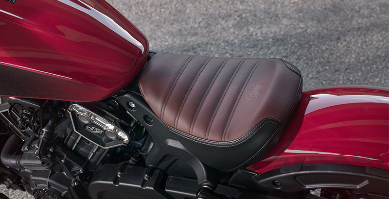 Asiento Indian Scout Bobber