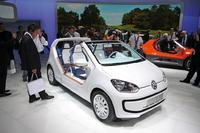 Fotos de coches Volkswagen up! New Small Family prototipos