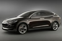 Fotos de coches Tesla Model X (prototipo)
