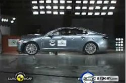Jaguar XF Euroncap Crash Test