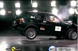 BMW X3 Crash Test