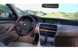 Video BMW 530d Touring Interior