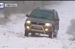 Video Tata Grand Safari Prueba Nieve