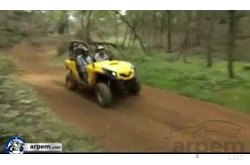 Video Can-am Commander 1000 XT Movimiento