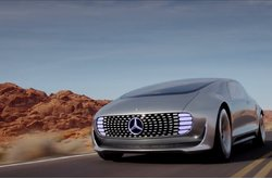 Mercedes-Benz F 015 Luxury in Motion Dinámico