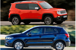 Comparativa Jeep Renegade 1.6 MultiJet 120 CV Limited 4x2 (2016) & Suzuki S-Cross 1.6 DDiS GLX 2WD (2016)