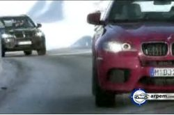 Video BMW X5 X6 Snow Action