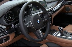 BMW X6 Xdrive50i Interior