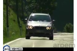 BMW Serie 3 Touring Driving Shots