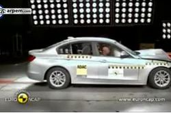 BMW Serie 3 Euroncap Crash Test