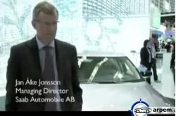 Video Saab 9-5 Frankfurt 2010