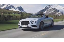 Vídeo Bentley Continental GT V8 Convertible 2015