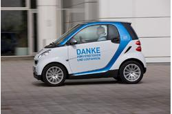 smart fortwo car2go 2010