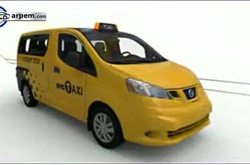 Video Nissan NV200 Taxi New York