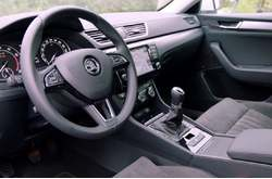 Vídeo Skoda Superb Combi 2016 Interior