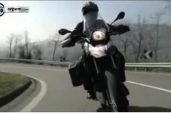 Video BMW G 650 GS Sertao Movimiento