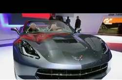 Video Chevrolet Corvette Stingray Cabrio