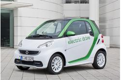 smart fortwo Coupé electric drive 2012