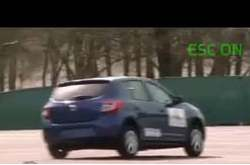 Video Dacia Sandero ESC Test