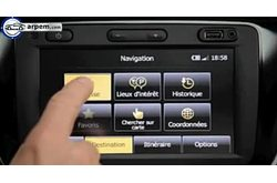 Video Dacia Lodgy Media Nav
