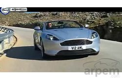 Video Aston Martin Virage Volante Conducción