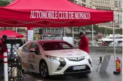 Video Opel Ampera Rally Montecarlo