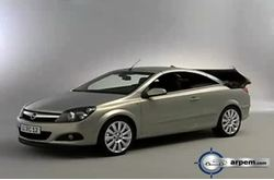Opel Astra Twin Top Detalles