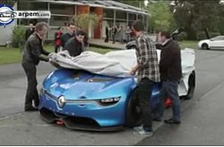 Video Renault Alpine A110-50 Prueba