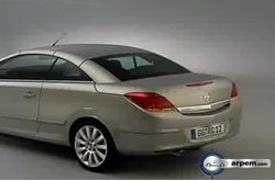Opel Astra Twin Top Trailer